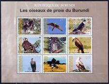 Burundi 2009 Vögel Birds Uccelli Oiseaux Raubvögel Greifvögel 1917-1925 MNH
