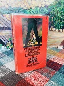 WOW! Stephen King The Long Walk TRUE 1st Edition $1.95 Richard Bachman SIGNET