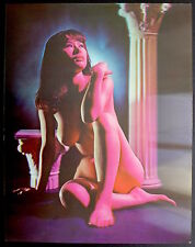 Photo 3D Color - Lenticulaire - Rainbow Nude - 1970 -