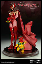 SIDESHOW X-MEN SCARLET WITCH COMIQUETTE 1/4 SCALE STATUE BRAND NEW # 031 / 1750