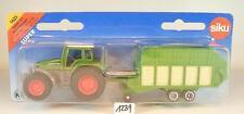 Siku Nr. 1625 Fendt Favorit Traktor & Heuladewagen OVP #1239