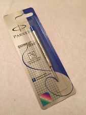 PARKER QUINK FLOW BLUE INK BALLPOINT REFILL-FINE POINT-FRANCE-NEW