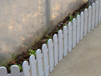 Flexible Garden/Room Lawn Edging Border Panel Plastic Path Fence NP2