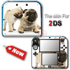 Dog Pug Adorable Pet NEW SKIN VINYL STICKER DECAL COVER #1 for Nintendo 2DS