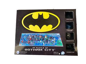 4D Batman Gotham City Time Jigsaw Puzzle (1000 Piece) - 4D Cityscape -