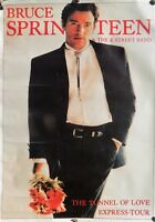rare poster affiche BRUCE SPRINGSTEEN tunnel of love express-tour  - 86 x 60 CM