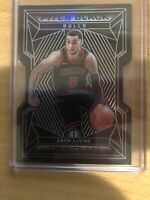 2019-20 Panini Obsidian Zach Lavine Pitch Black Die Cut Prizm #ed 26/50