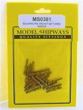 Model Shipways Fittings MS0381 Walnut Belaying Pins 5/8'' (16mm). 40 PCS - NEW