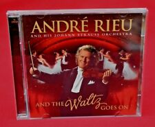 ANDRE RIEU - AND THE WALTZ GOES ON:   CD + DVD ALBUM - GOOD, COMPLETE & SOUND!