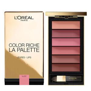 L'oreal color riche la palette lips NUDE / Genuine