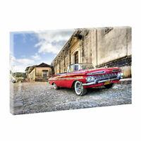 Chevrolet Kuba Bilder Kunstdruck Leinwand Keilrahmen XXL-100cm*65cm V0410015