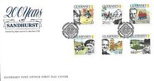 GUERNSEY 1999 MILITARY ACADEMY SANDHURST FIRST DAY COVER