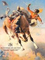 Scottsdale Western American Art Auction Catalog April 2017