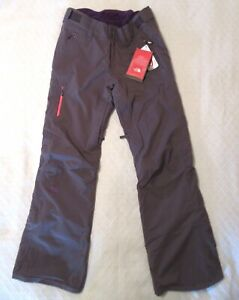 THE NORTH FACE Women's Gray Jeppeson Primaloft Insulated Ski Pants 6 NWT
