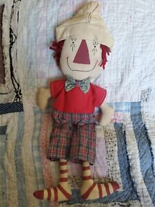 Primitive Raggedy Andy Doll