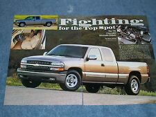 """1999 Chevy Silverado First Look Article """"Fighting for the Top Spot"""""""