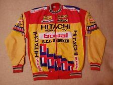 🔴VINTAGE 80s EDDY MERCKX CYCLING JERSEY TEAM HITACHI BELGIUM tour de france