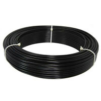 Black Bicycle Outer Telfon Lined Brake Cable - Sold By The Metre