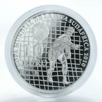 Spain 10 euros FIFA World Cup South Africa 2010 football silver proof coin 2009