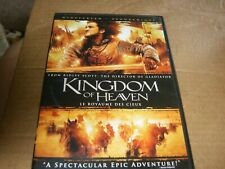 Kingdom Of Heaven Starring Orlando Bloom 2-Disc DVDs,2005,Used.