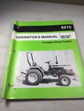 Deutz Allis 5215 Compact Diesel Tractor Operators Manual