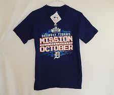 NWT Detroit Tigers MLB Baseball 2011 World Series T Shirt Size SMALL