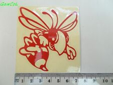 vespa sticker decal wasp wesp reflecting red