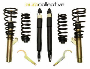 Coilovers for '06-'13 BMW 3-series E90 E92 RWD by EuroCollective Height Adjust