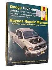 New listing Dodge Pick Ups 2009 thru 2012 Haynes Repair Manual 30043 Trucks