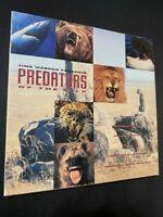 Predators Of The Wild Laserdisc Box Set Time Warner 3 LD Cheetah Shark Bear