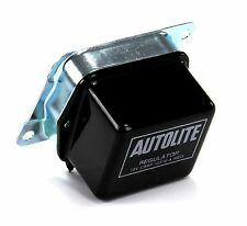 Mustang Voltage Regulator Black Silver Text C5AF-10316-A w/o A/C  1965 1966 1967