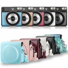 For Fujifilm Instax Square Sq6 Instant Film Camera Case Leather Bag Cover Strap
