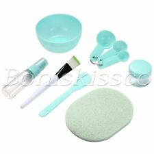 DIY Mask Tool Kit Face Mask Mixing Set 9 in 1 Facial Care Spoon Bowl Brush Stick
