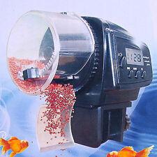 2016 LCD Digital Automatic Fish Food Feeder for Aquarium Fish Tank Timer UK