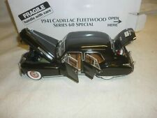 Danbury Mint 1:24 scale model of the 1941 Cadillac Fleetwood Series 60 Special