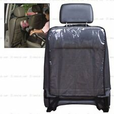 4pcs Car Seat Back Rear Protector Clear PVC Anti Stain Mud Cover Mat Pad For SUV