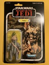 Vintage ROTJ Teebo 79a back ewok sealed on card - Star Wars Return of the Jedi