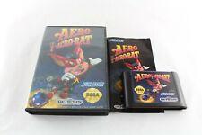 Sega Genesis (Megadrive) Aero The Acrobat Video Game