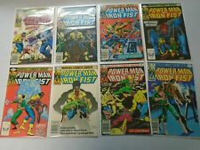 Power Man Iron Fist lot 35 different from #77-125 last issue avg 8.0 VF (1982-86