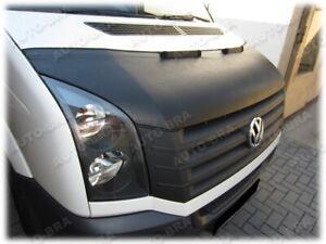 CAR HOOD BRA fit Volkswagen Crafter 2006 - 2016  NOSE FRONT END MASK TUNING