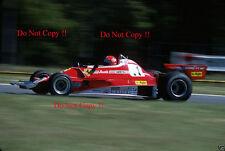 Niki Lauda Ferrari 312 T2 2 fotografía argentino Grand Prix 1977