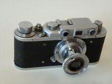 FED NKVD USSR Russian Rangefinder camera copy LEICA 35mm INDUSTAR-10 3.5/50mm