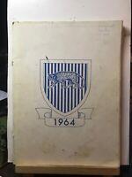 Vintage Segregated Levey Junior High School 1964 Yearbook (Southfield, Michigan)
