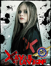 """Avril Lavigne """" Rock Star """" Personalized T-shirts"""