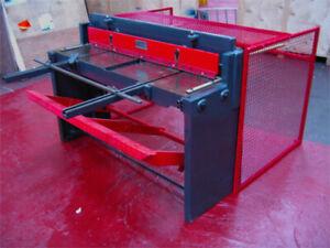 New CARTER Metal Treadle Guillotine Shear 1320x1.5mm 2 Year Warranty UK STOCK