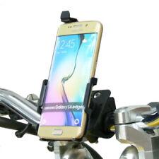 Soportes soporte de bicicleta negros Para Samsung Galaxy S6 para teléfonos móviles y PDAs