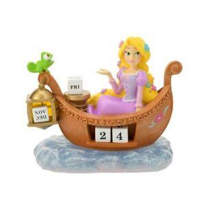 Disney store Japan Rapunzel Perpetual calendar Figure desk ornament doll