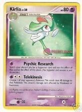 KIRLIA Promo STAFF PRERELEASE Pokemon NM RARE Card Secret Wonders