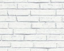 Tapete Steine Steinwand weiß Lutèce Authentic Walls 30169-2 (1,81?/1qm)