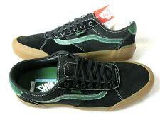 Vans Mens Chima Ferguson Pro 2 Canvas Suede shoes Black Alpine Green Size 11